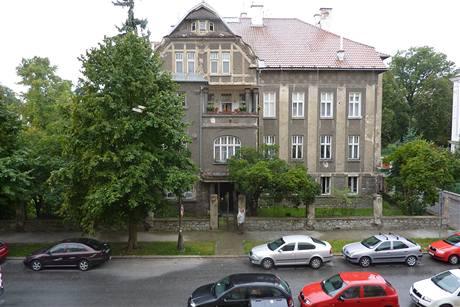 Vila ve Vídeňské ulici v Olomouci, kde lékař Otokar Bittmann žil.