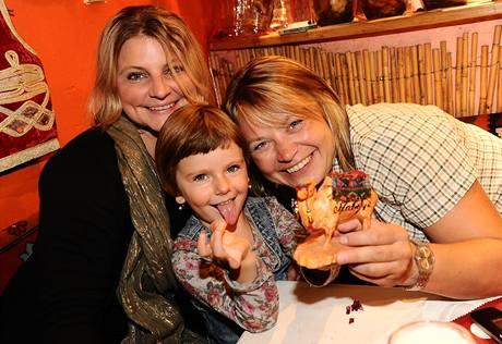 Ženy Mukova života: manželka Eva, expartnerka Míša Klímková a nejmladší dcerka Noemi