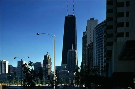 Mrakodrap John Hancock Center v Chicagu