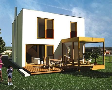 Češi čím dál častěji volí jednoduché a malé domy v ceně kolem dvou milionů korun