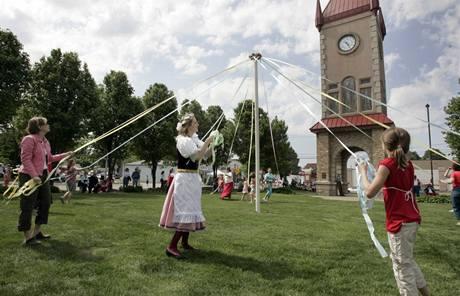 Česká čtvrť v americkém městě Cedar Rapids. Tradice se v asi stotřicetitisícovém Cedar Rapids stále udržují