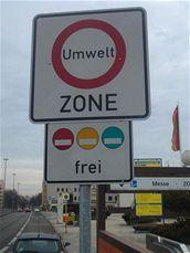 Emisní zóny v německých městech