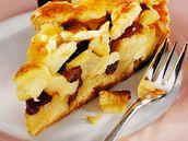 Holandský jablkový koláč.