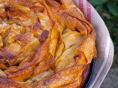 Francouzský křehký koláč.