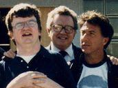 Dustin Hoffman n�kolik t�dn� chov�n� Kima Peeka studoval, aby jej mohl ve sn�mku Rain Man ztv�rnit co nejv�rohodn�ji