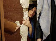 Syrská herečka Sulafa MIma v hlavní roli seriálu Ma Malakat Aymanukum