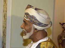 Ománský sultán Kábús bin Saíd