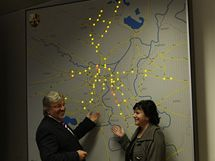 Nová plzeňská dopravní ústředna (17.9.2010)