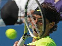 Španělský tenista Rafael Nadal při semifinále US Open.