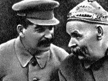 J. V. Stalin a Maxim Gorkij v roce 1931