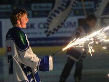 Slavnostní zahájení nové sezony extraligy hokeje v brněnské hale Rondo (17. září 2010)