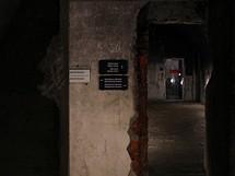 Pohled do podzemn�ch chodeb v�b�val�m Hitlerov� s�dle Obersalzberg