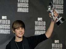 Justin Bieber s cenou MTV Video (12. září 2010)