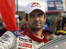 Sébastien Loeb v cíli Japonské rallye.