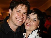 Zuzana Dřízhalová se na rautu po premiéře pochlubila sympatickým manželem
