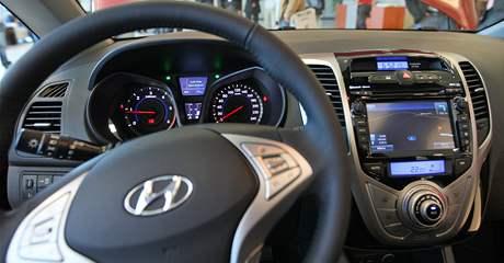 Nový Hyundai ix20, který se vyrábí v Nošovicích.