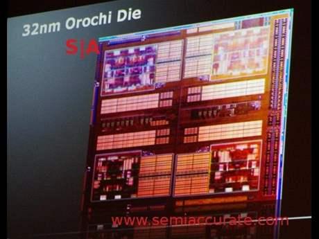 AMD Orochi na platformě Bulldozer