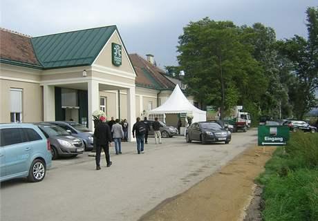Golfové hřiště Diamond Country Clubu, dějiště Austrian Open 2010.