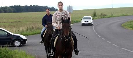 V Libereckém kraji zatím schází značené stezky pro koně, to by se ale mělo brzy změnit. Nový projekt počítá s desítkami kilometrů stezek. Snímek je ze Žďárku.