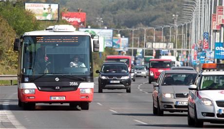 Autobus číslo 125 bude jezdit po Jižní spojce.