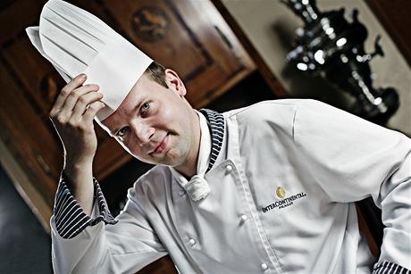 Lukáš Skála - cukrář hotelu InterContinental Praha