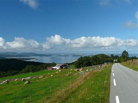 Pohled na Stavanger