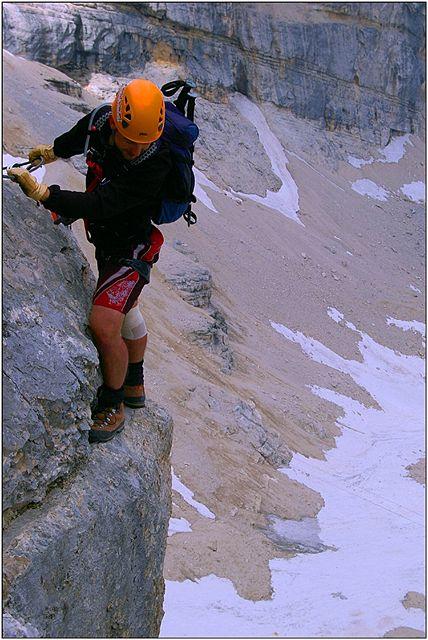 Z výstupu na Tofana di Mezzo (3244 m)