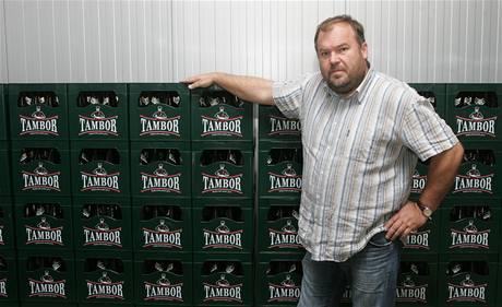Majitel pivovaru Tambor Nasik Kiriakovský