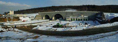 Cholupický tunel -  Vjezd do Cholupického tunelu