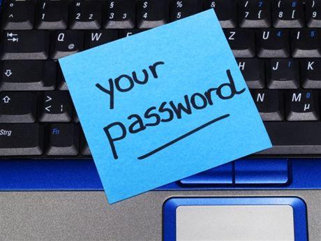 Nezapomeňte již nikdy své heslo!