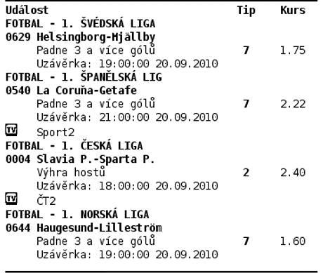Tiket, na který sázkař z Liberce vyhrál 1,5 milionu korun.