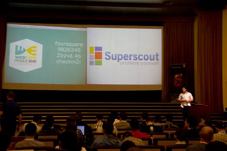 Superscout - start-up prezentace