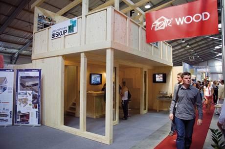 For Wood, veletrh progresivního stavění ze dřeva, probíhá v Letňanech současně s veletrhem For Arch