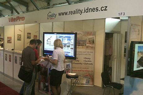 Reality.iDNES.cz na veletrhu For Arch