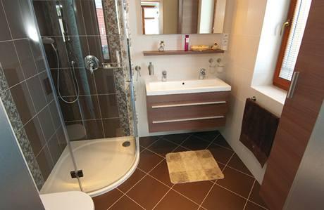 Pohled do jedné z koupelen