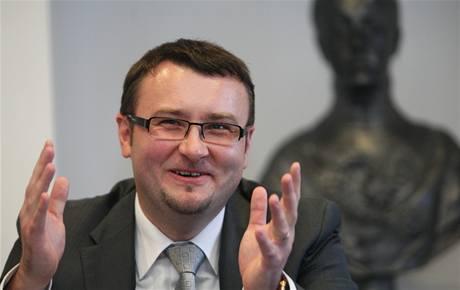 Ministr životního prostředí Pavel Drobil v Ostravě.
