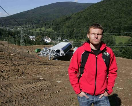 David Kestl, jednatel společnosti, která staví a bude provozovat největší lyžařský areál v Česku v Koutech nad Desnou.