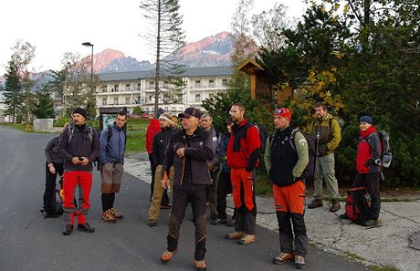 Ranní sraz v Tatranské Poliance