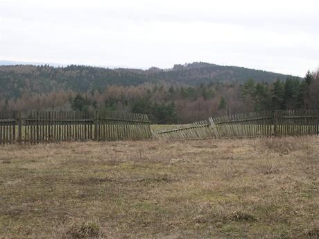Původní vzhled pozemku