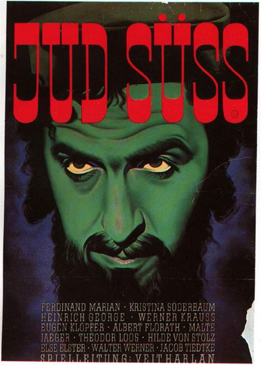 Plakát k filmu Źid Süss (1940)