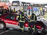 Nehoda polského autobusu nedaleko Berlína (26.9.2010)
