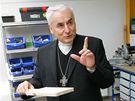 Nové dílny pro drogově závislé v třebíčském K centru otevřel a požehnal biskup Vojtěch Cikrle.
