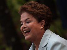 Kandidátka na brazilskou prezidentku Dilma Rouseffová