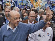 Kandidát na brazilského prezidenta José Serra