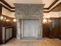 Interiér tzv. Brummelova domu v Husově ulici  v Plzni architekta Adolfa Loose