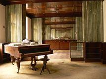 Interiér domu v Bendově ulici 10 v Plzni architekta Adolfa Loose
