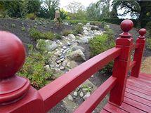 Nová část japonské zahrady v plzeňské zoo