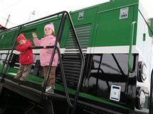 Den železnice v Jihlavě