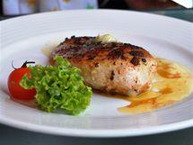Kuřecí steak za 120 korun