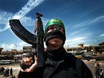 Irák, Bagdád, sebevražedný bojovník ze Sadr City